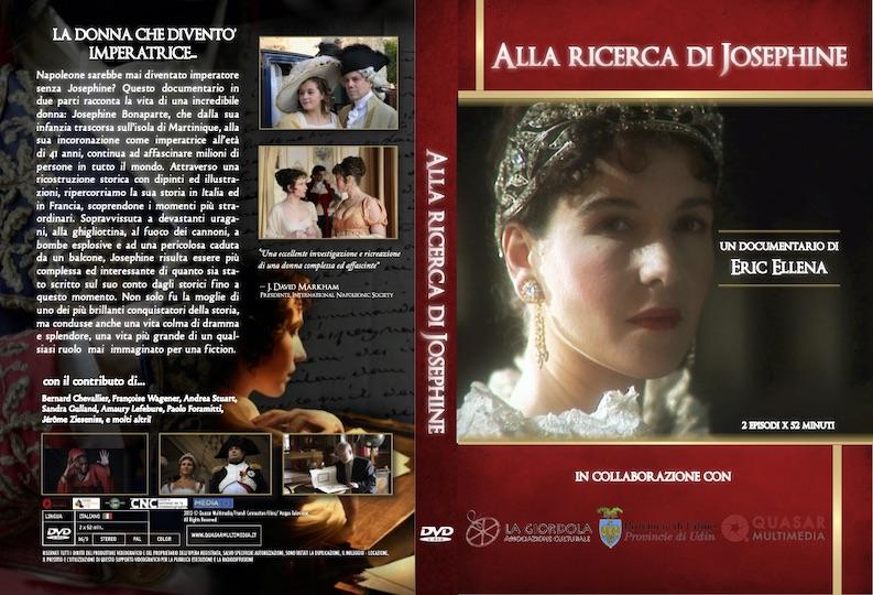 Copertina DVD Alla ricerca di Joséphine